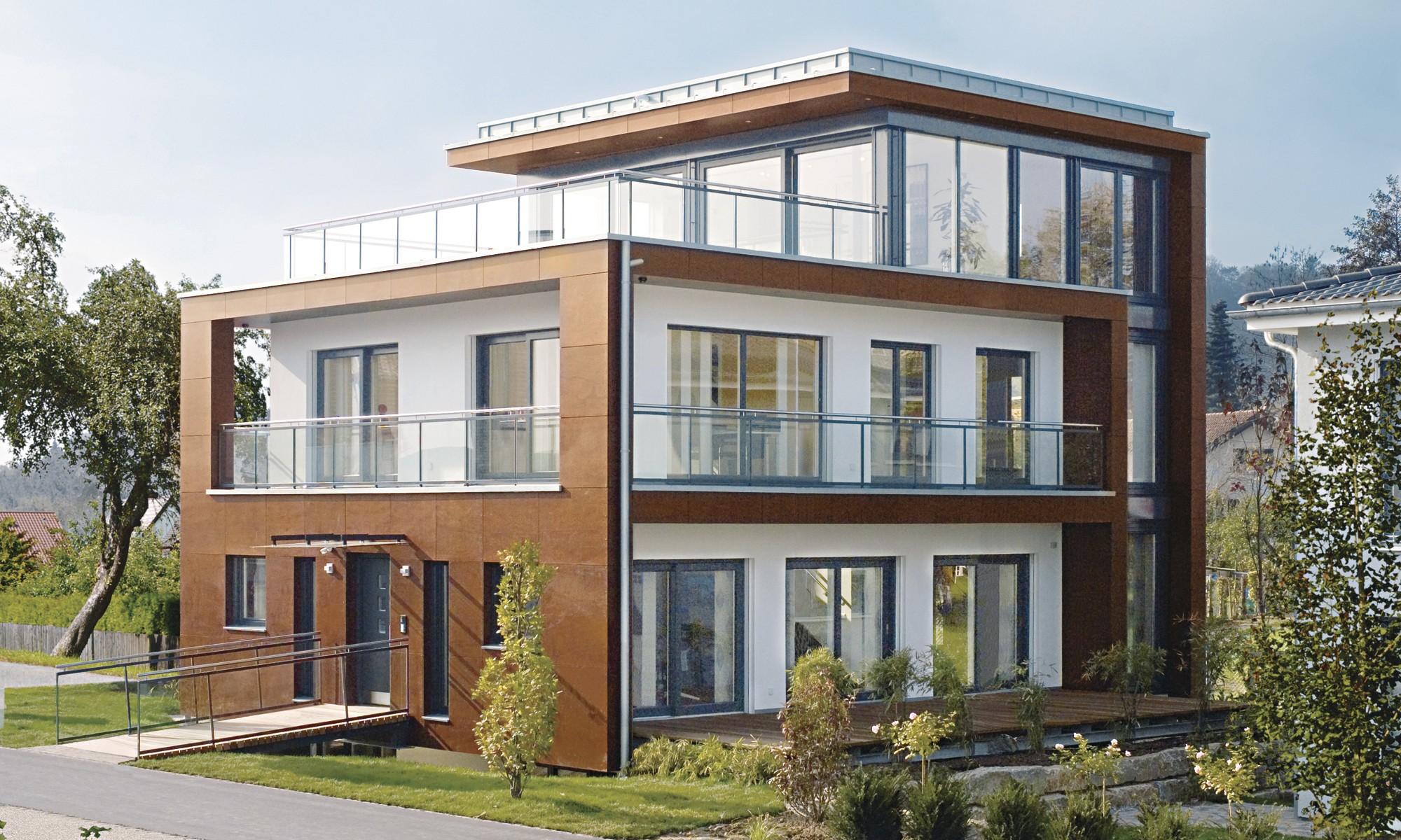 Modernes Wohnen mit intelligenter Bauweise
