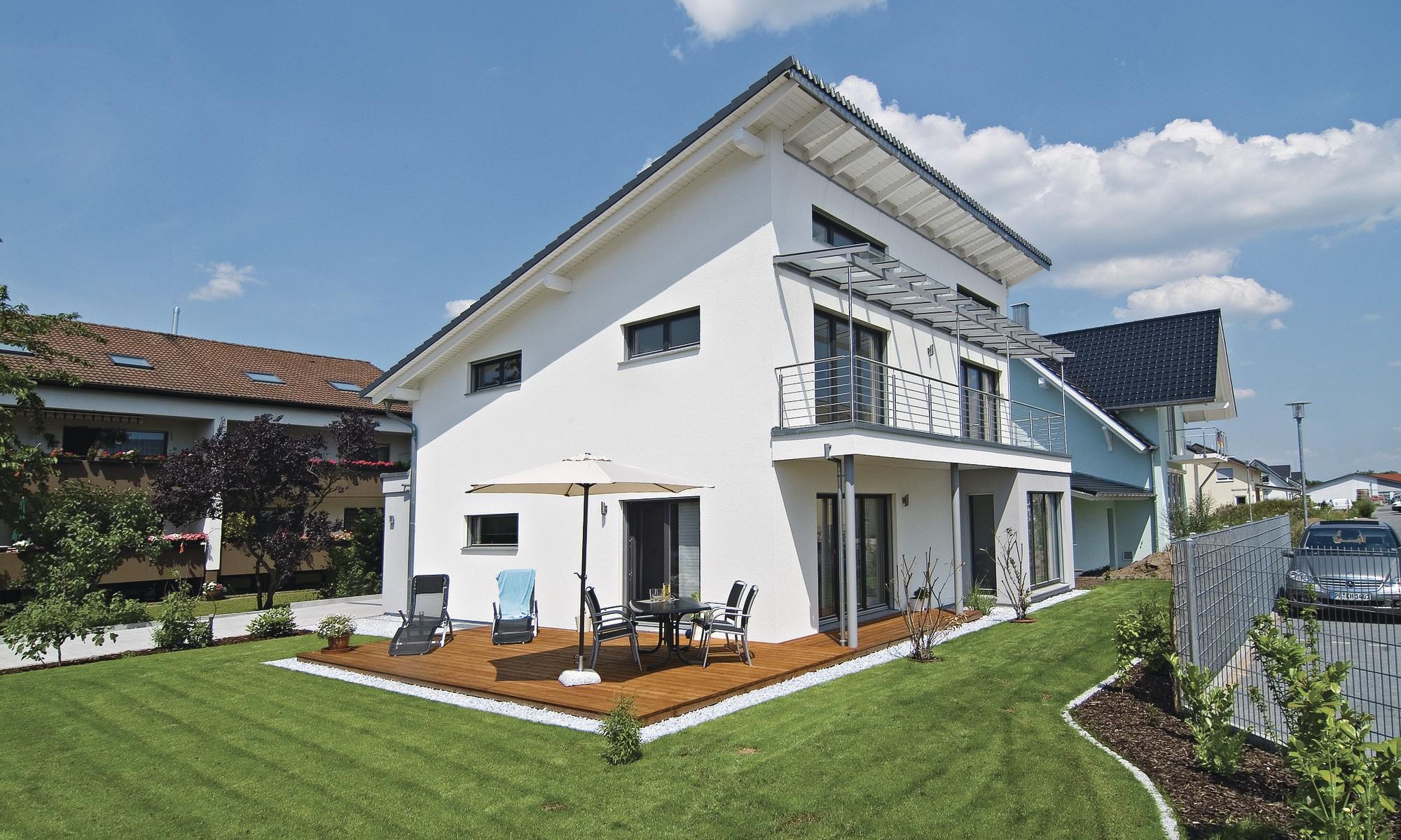 1,5geschossige Häuser