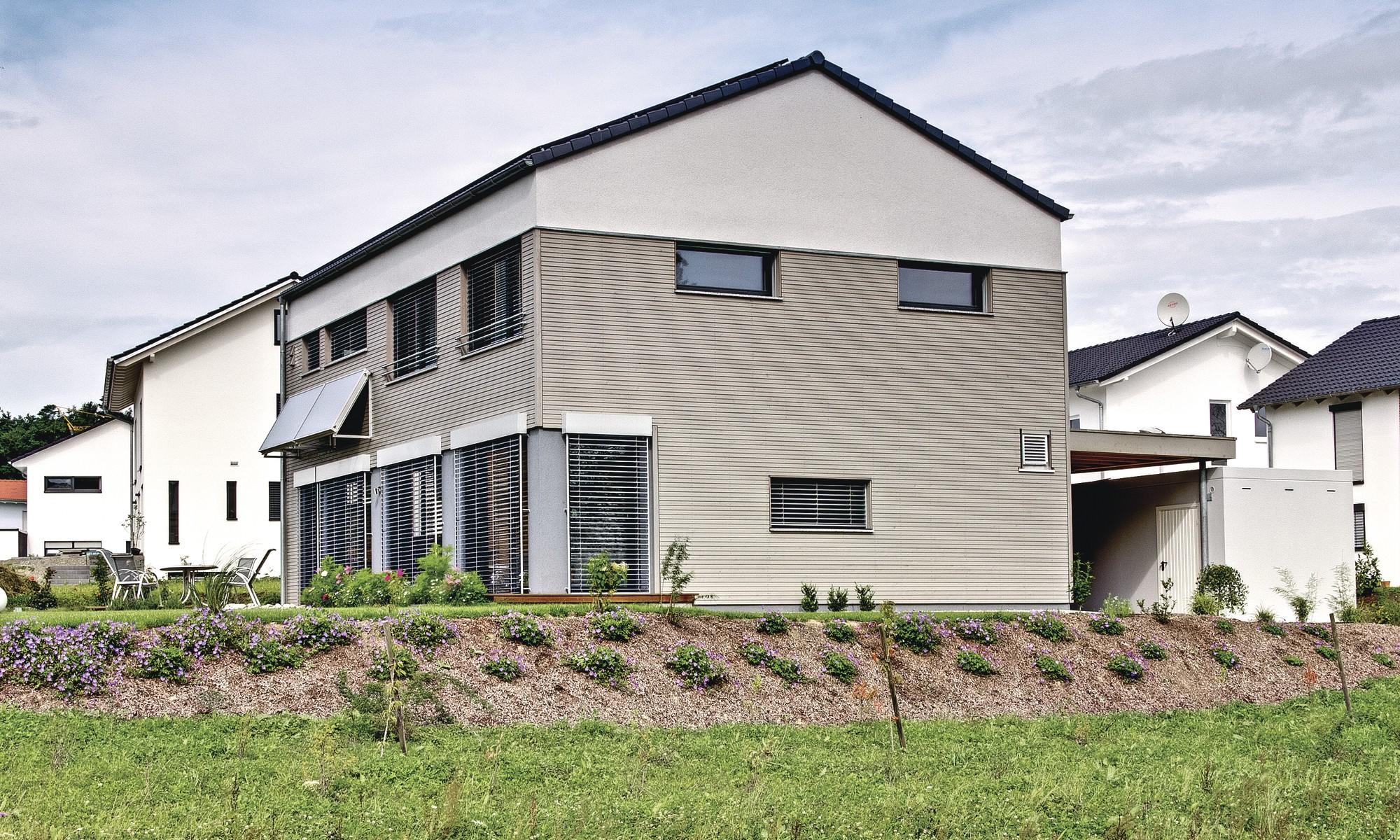Weberhaus Modern Eco Friendly Self Build Home