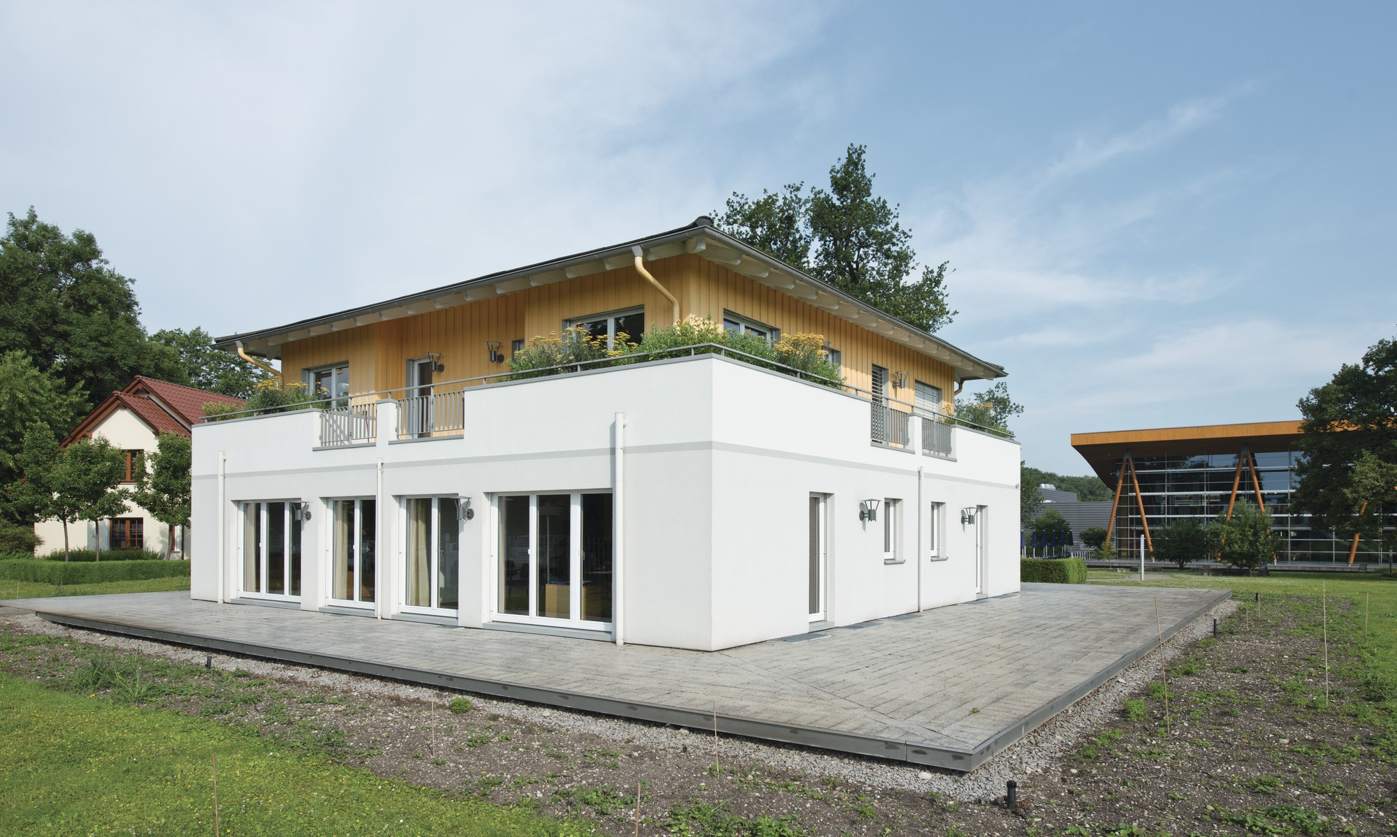 Praktisch: Arbeit und Wohnen unter einem Dach