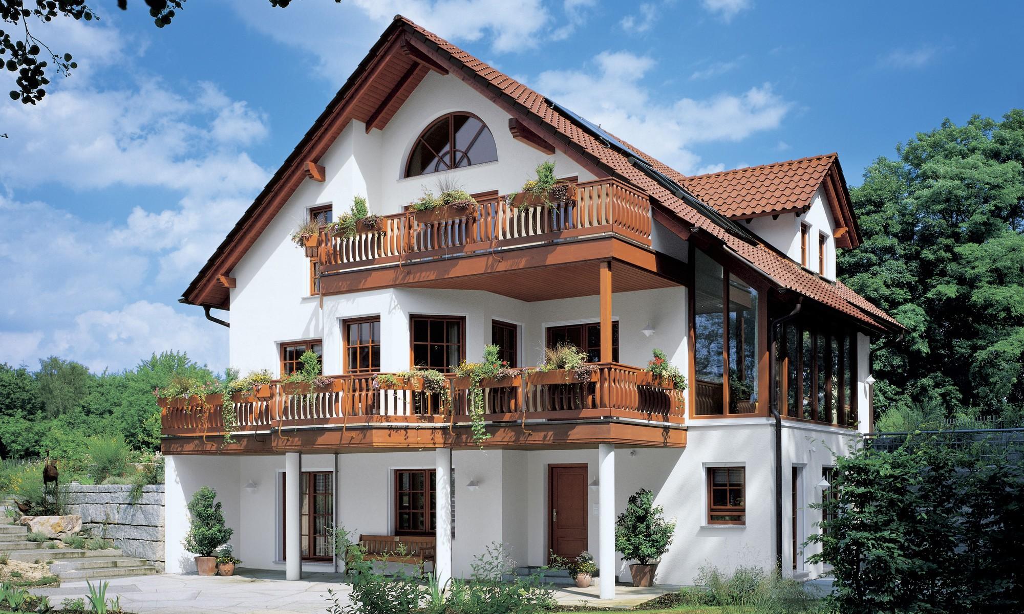 Klassischer Landhauscharakter