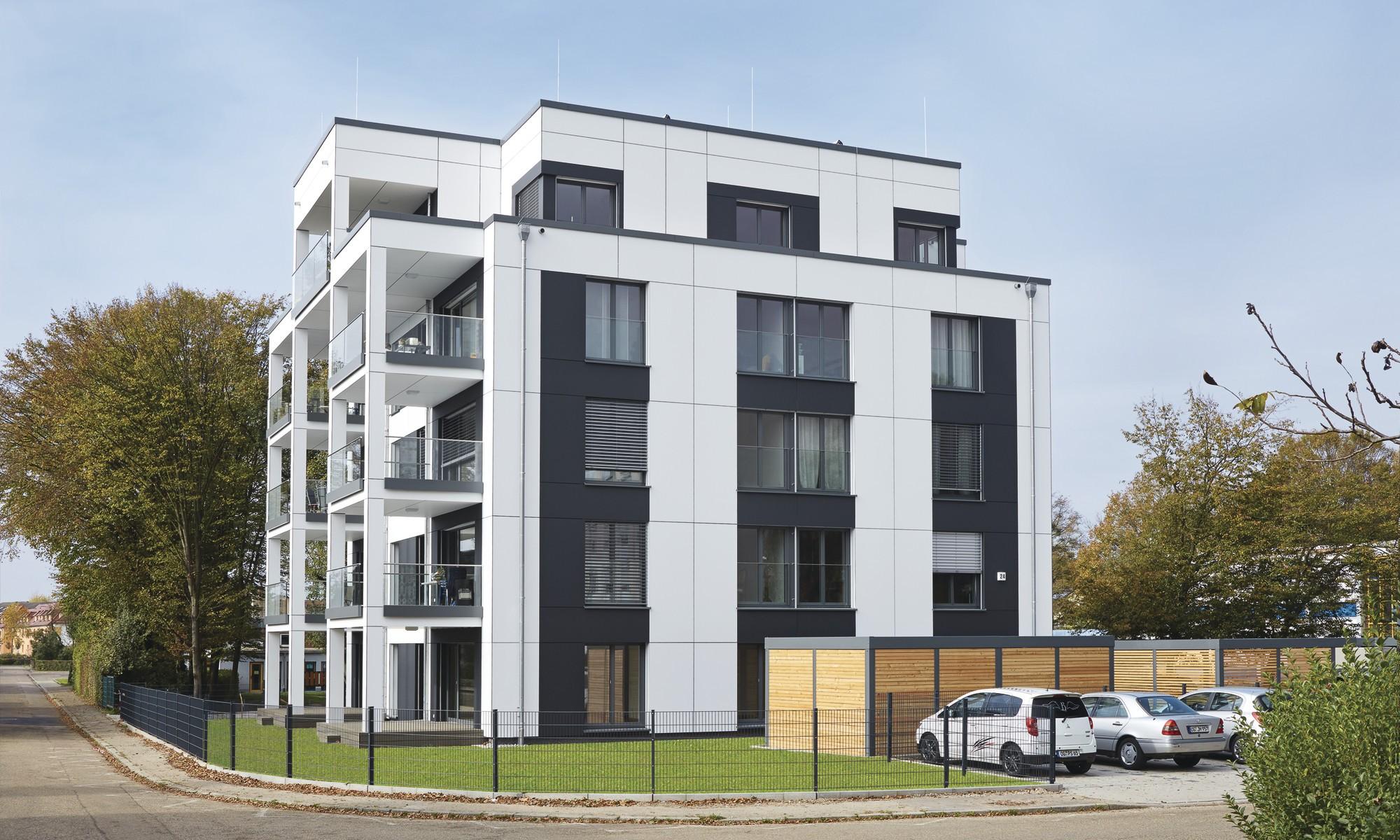 musterhaus kehl auenansicht - Mehrfamilienhaus Grundriss Beispiele