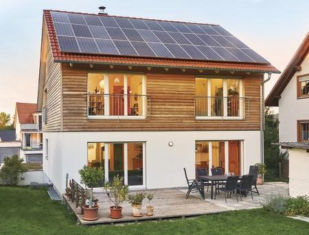 Auf dem Land das eigene Energiesparhaus gebaut