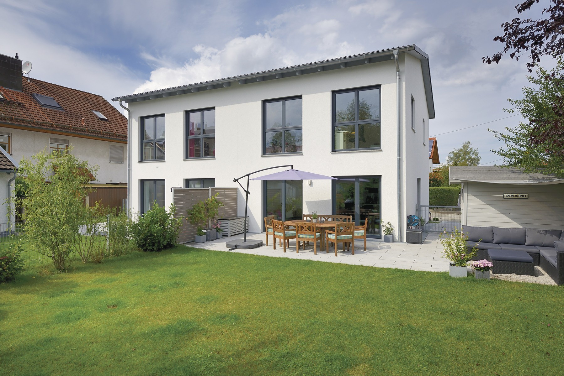 Individuelles Doppelhaus mit höchstem Wohnkomfort