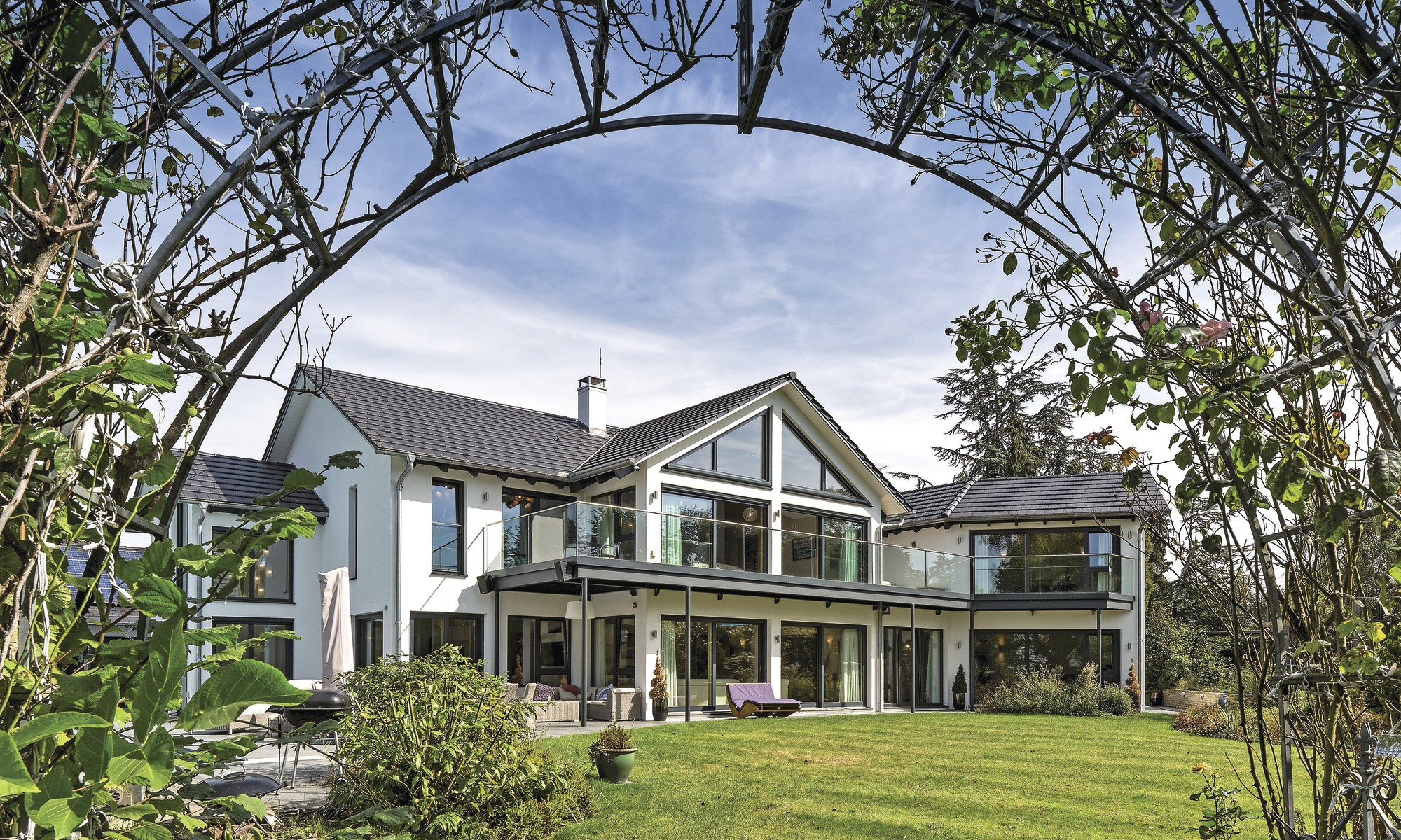Eco-friendly luxury self-build home