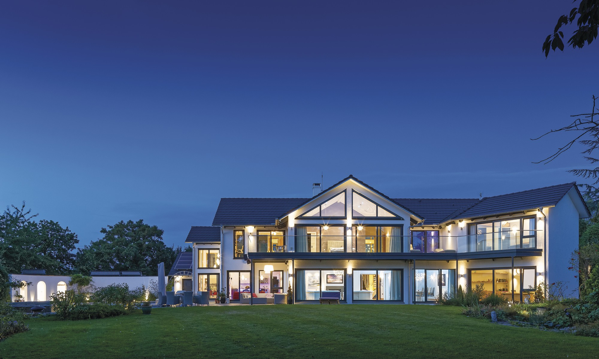 Gorgeous luxury self-build home in Cambridgeshire, with hot tub, pool and solar heating