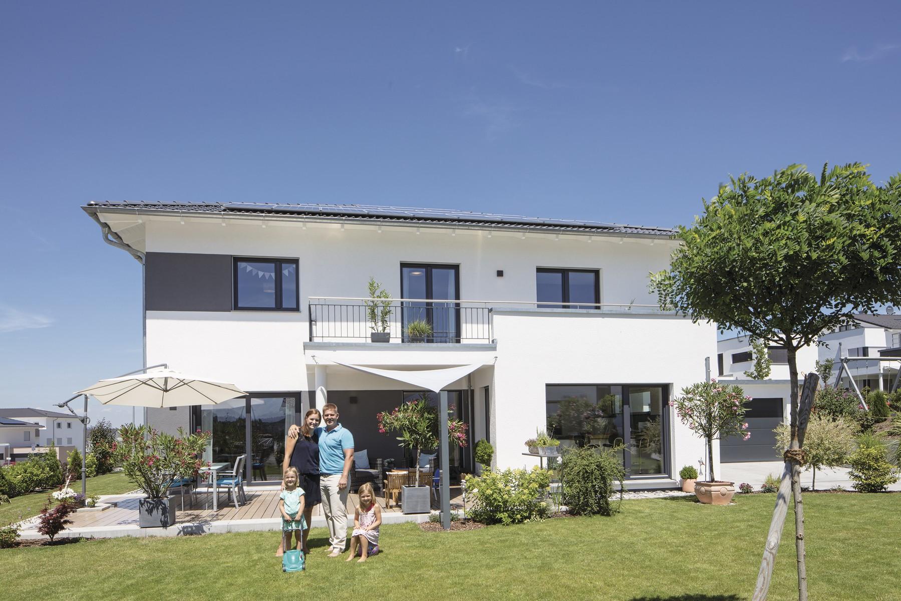 WeberHaus - Modernes Energiewunder mit Stadtvillen-Charakter