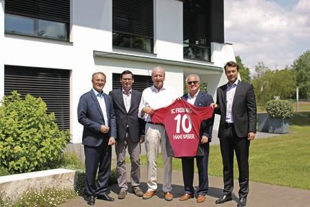 WeberHaus wird Premiumsponsor beim SC Freiburg