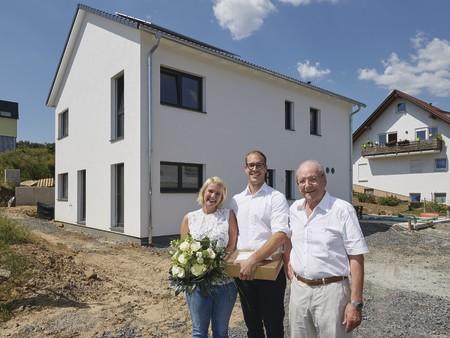 36.000 WeberHaus im Kraichgau gebaut