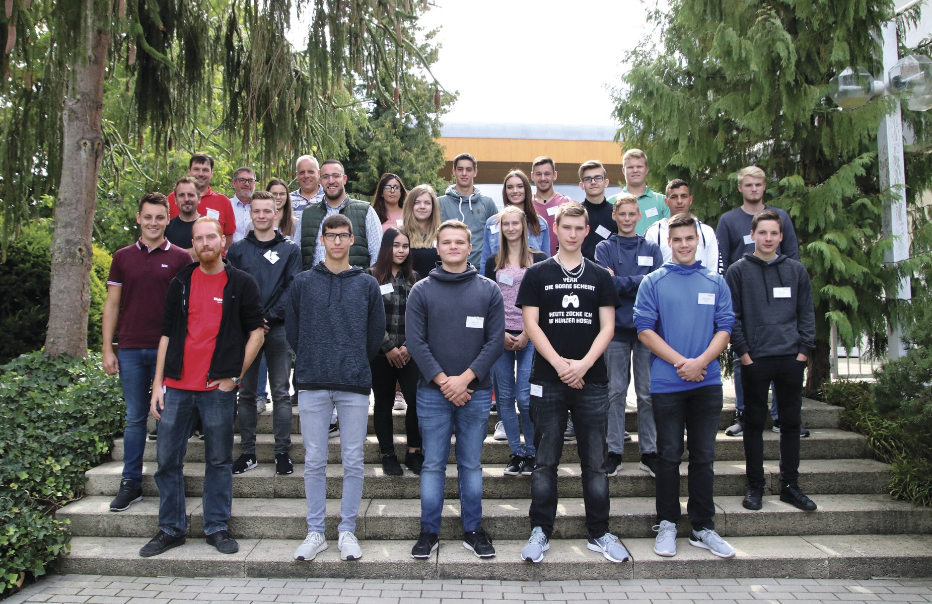 20 neue Auszubildende bei WeberHaus