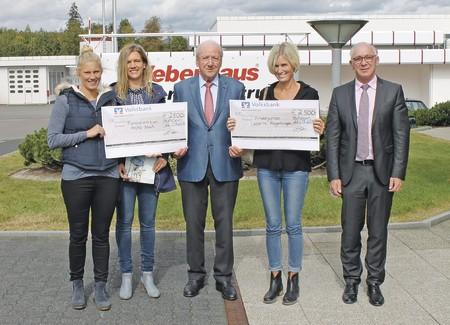 WeberHaus spendet 5.000 Euro anlässlich des 40-jährigen Firmenjubiläums