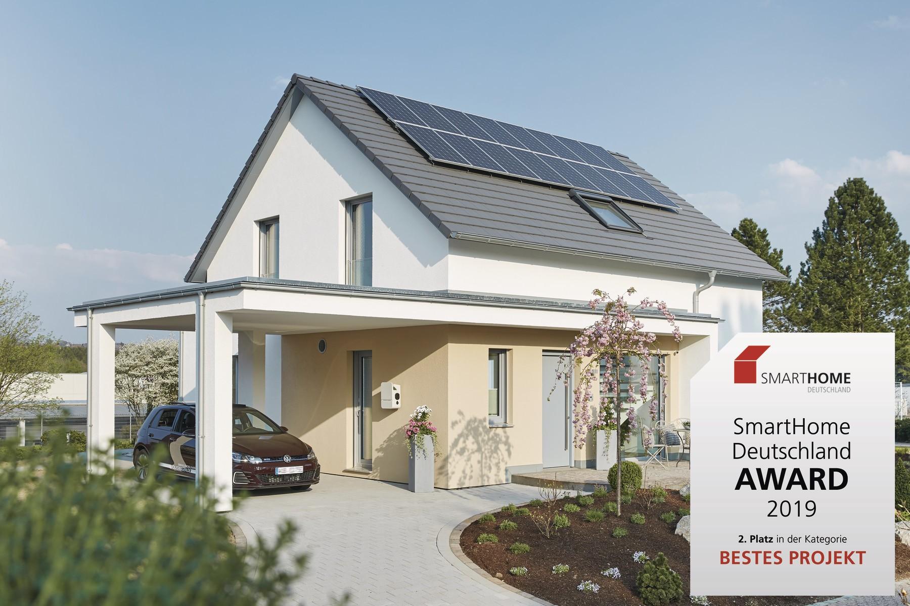 Silber für WeberHaus beim SmartHome  Deutschland Award