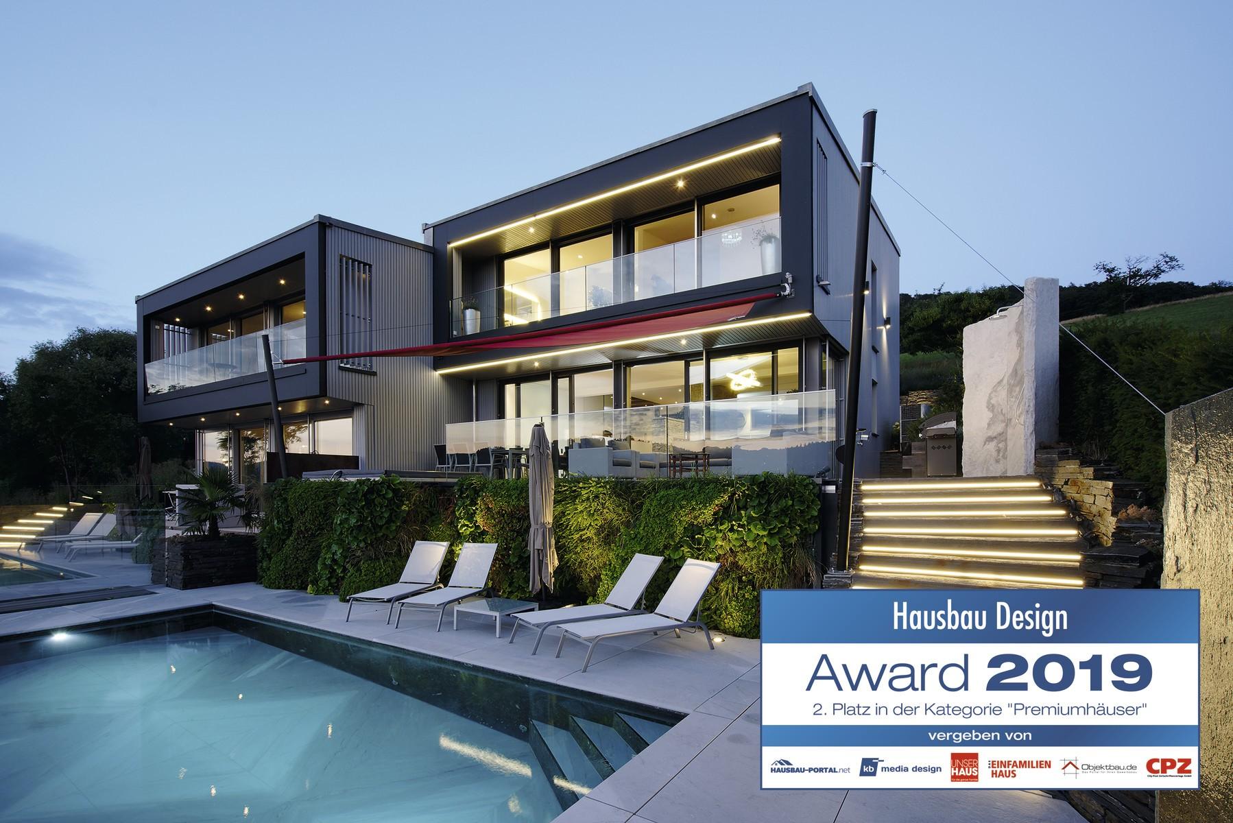 Silber für WeberHaus beim Hausbau Design Award