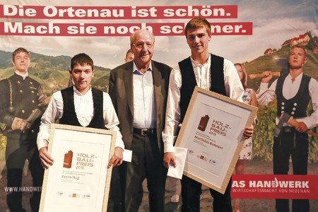 WeberHaus-Azubi ist Innungspreisträger