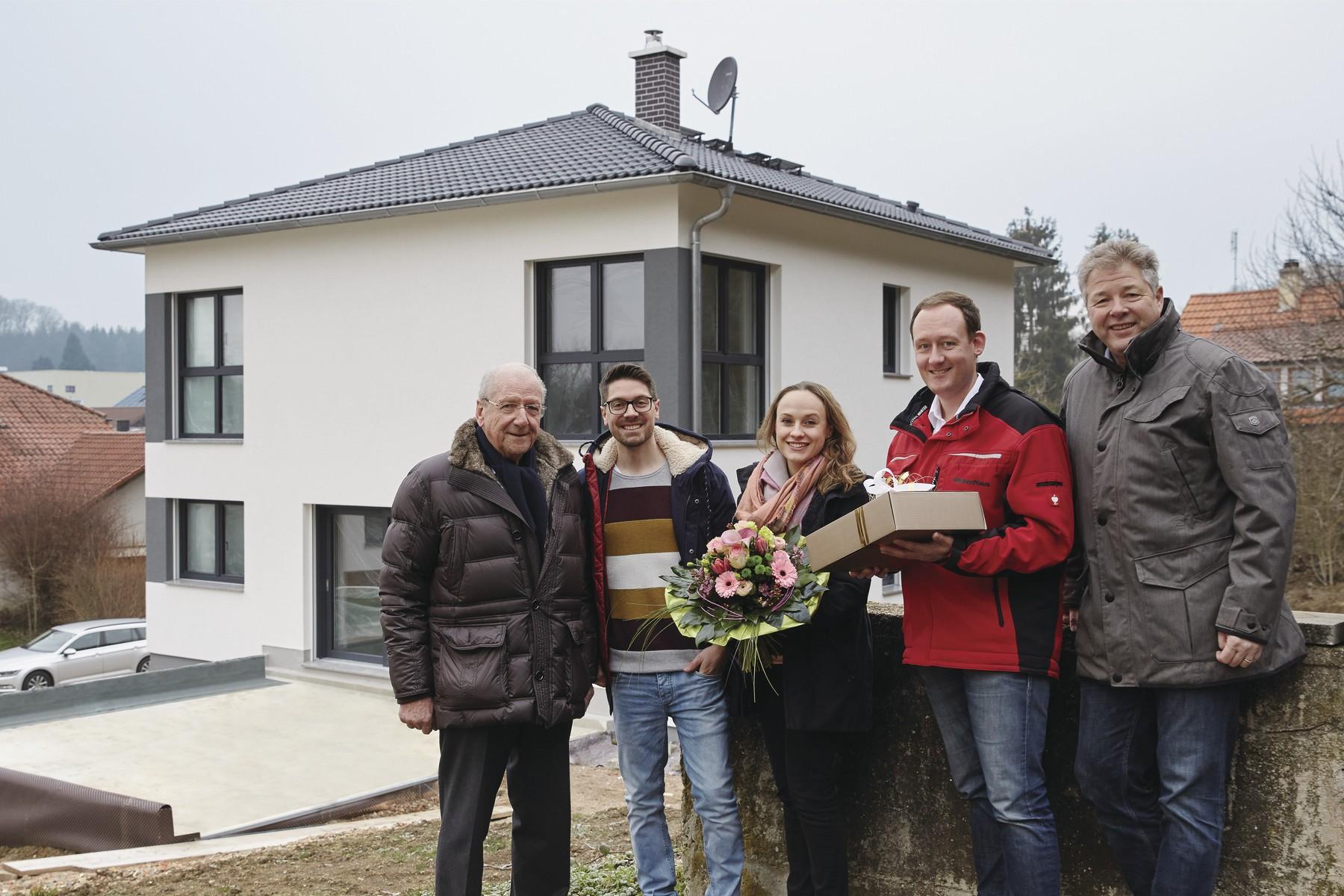 Hausübergabe vom 37.000sten WeberHaus