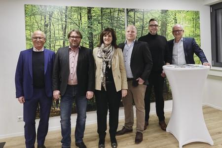 Offizielle Eröffnung vom WeberHaus-Bauforum  in Offenburg-Hohberg