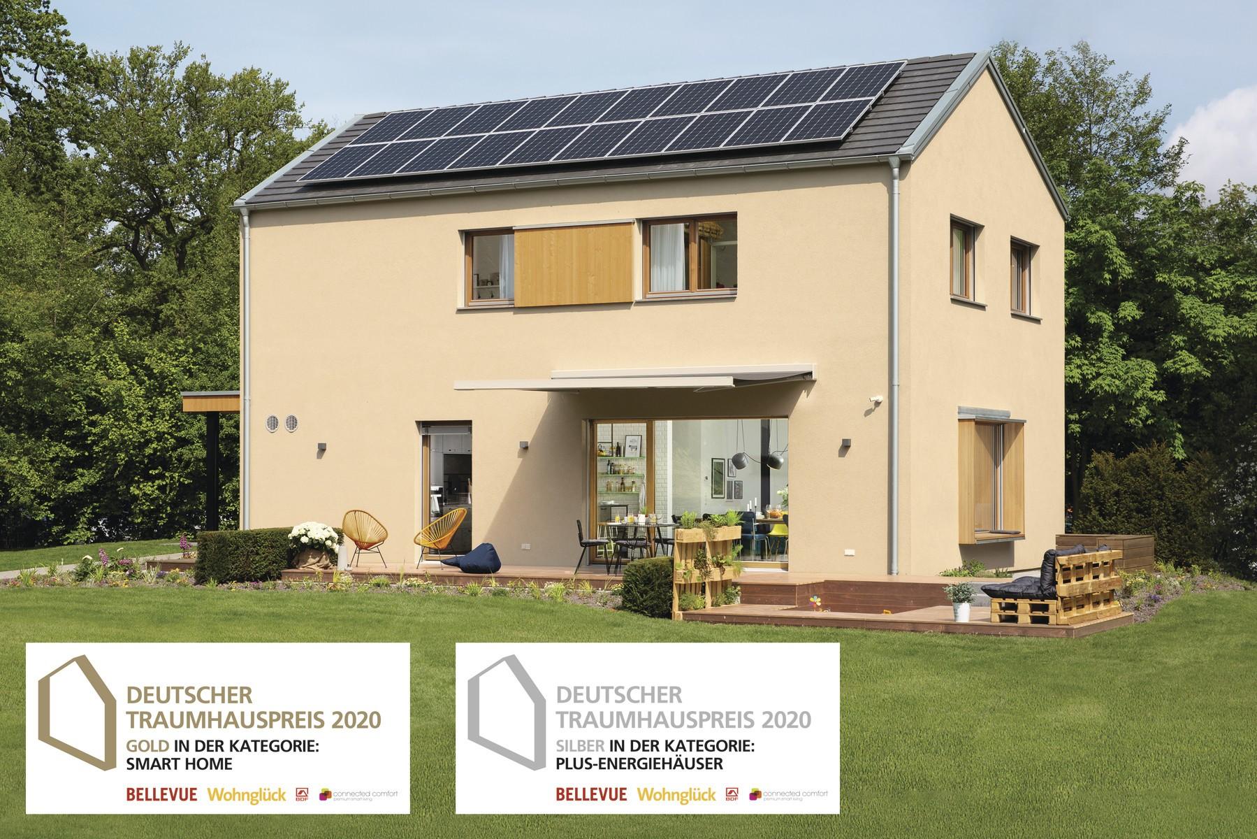 Gold beim Deutschen Traumhauspreis 2020
