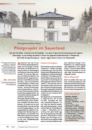 BUND Jahrbuch 2019 - Ökologisch Bauen & Renovieren