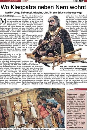 Badisches Tagblatt - Tour Zeit vom 25.4.2019
