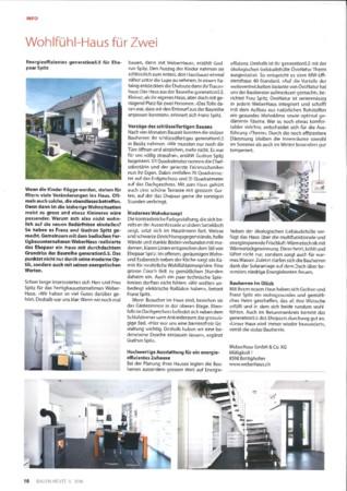 BAUEN HEUTE Ausgabe 5 2016