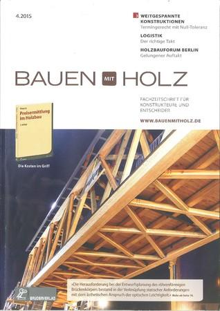 Bauen mit Holz Ausgabe 4/2015