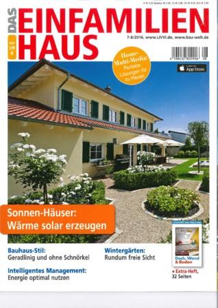 Das Einfamilienhaus Ausgabe 7/8 2016