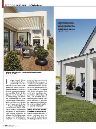 EffizienzHäuser Ausgabe April/ Mai 2019