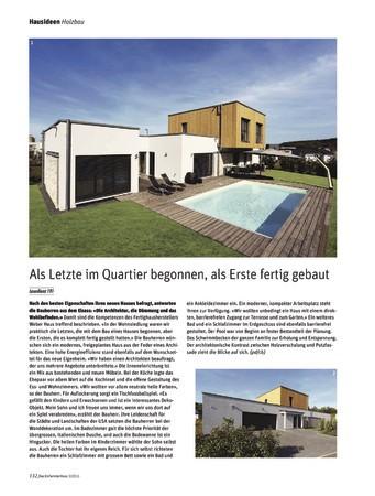 Das Einfamilienhaus Schweiz Ausgabe 3 2016