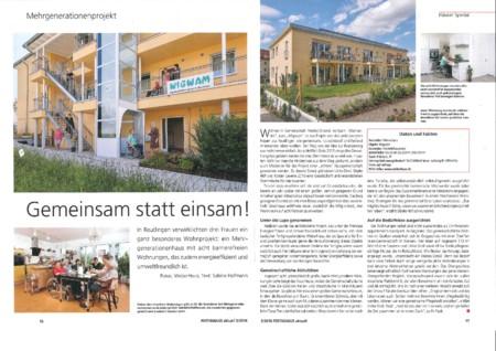 Fertighaus aktuell Ausgabe 3 2016