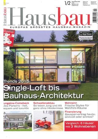 Hausbau Ausgabe 1/2 2015
