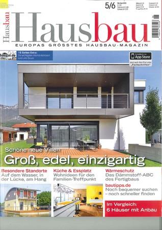 Hausbau Ausgabe 5/6 2015