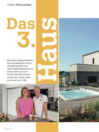 Hausbau Ausgabe Mai/Juni 2019