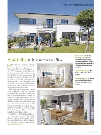 Hausbau Ausgabe Juli/August 2018