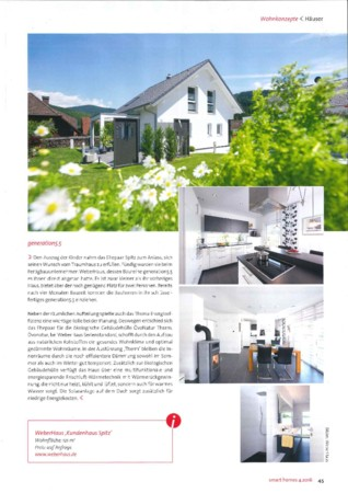 smart homes Ausgabe 4 Juli/August 2016