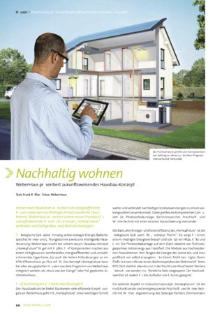 smart homes Ausgabe 2 2018