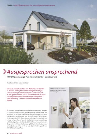 smart homes Ausgabe 3 2018