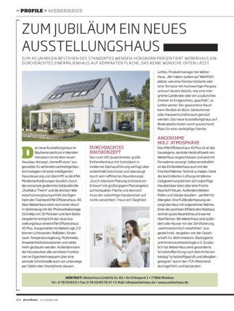 greenhome Ausgabe Juli - September 2018