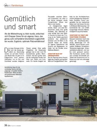 pro Fertighaus Ausgabe September/ Oktober 2019