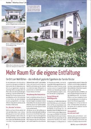 regional-Bauen Ausgabe 03 2015