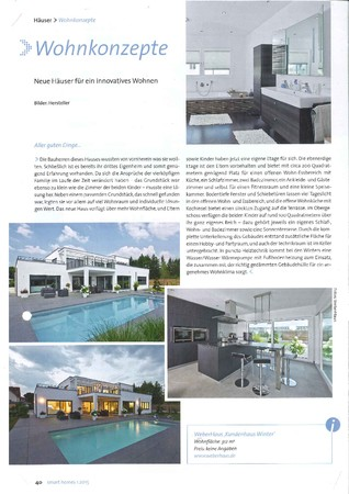 smart homes Ausgabe 1 2015