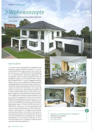 smart homes Ausgabe 2 März/April 2015